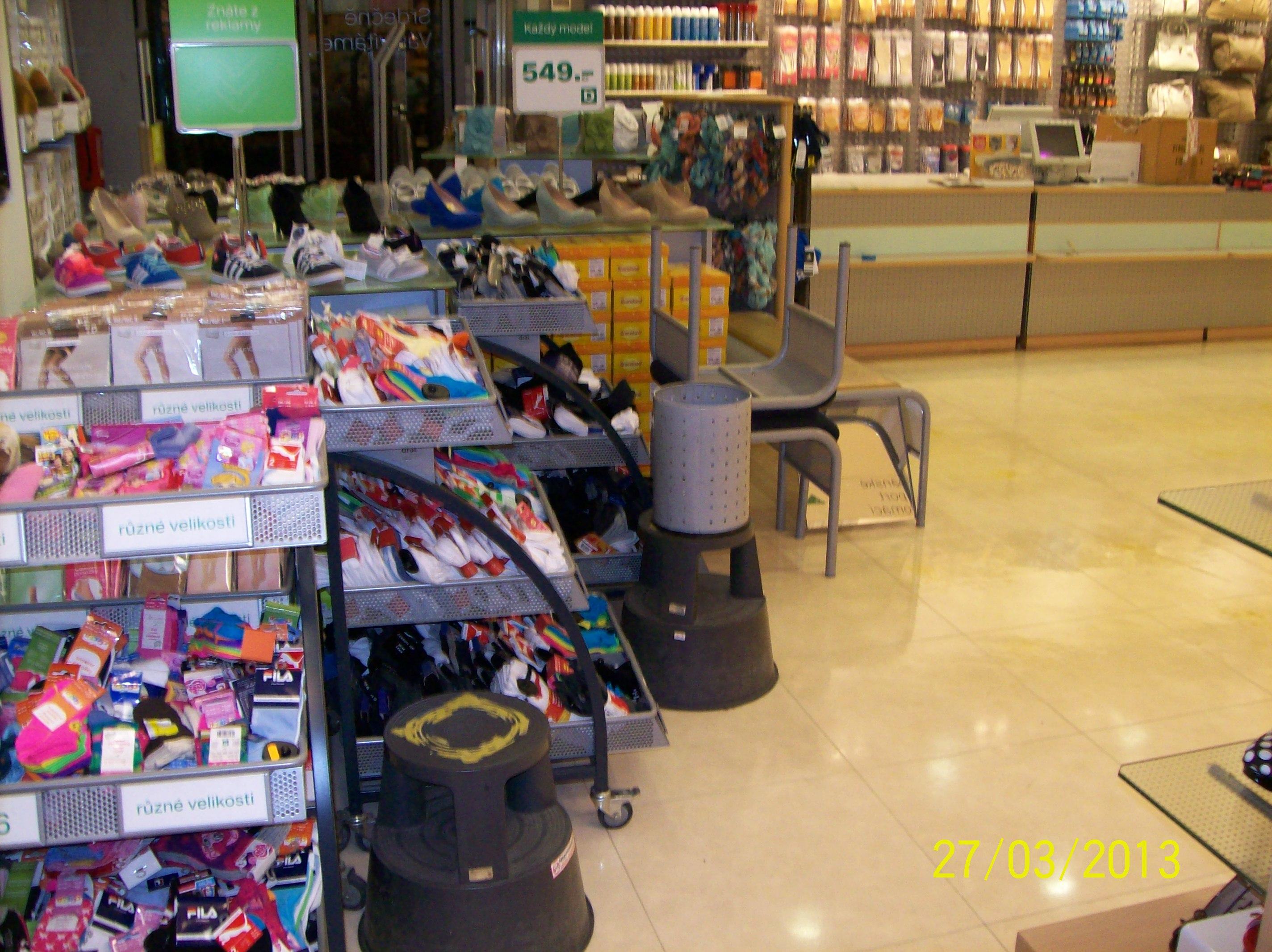 Strojové čištění podlah