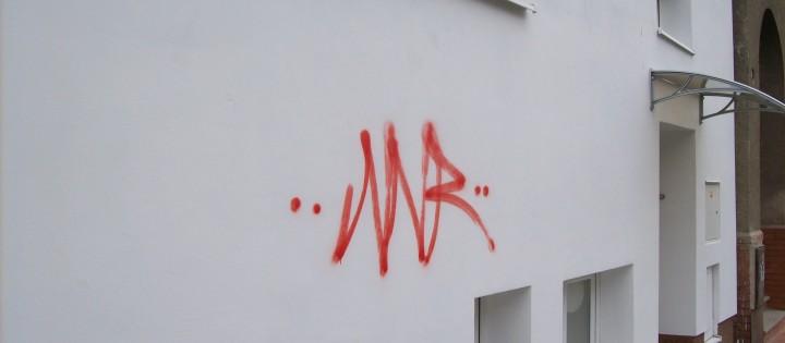 Odstranění graffiti, tegů z fasád Brno