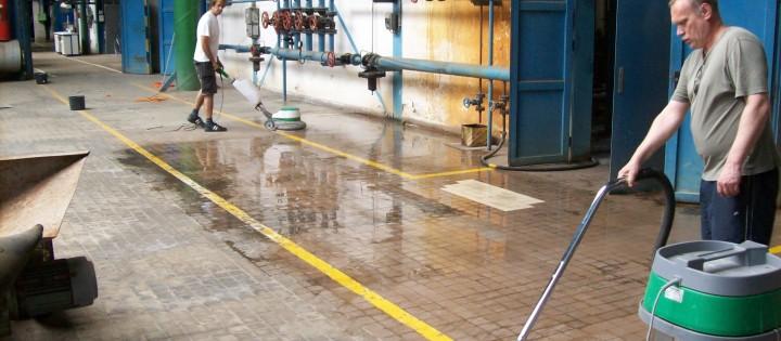 Strojové čištění podlah generální Praha