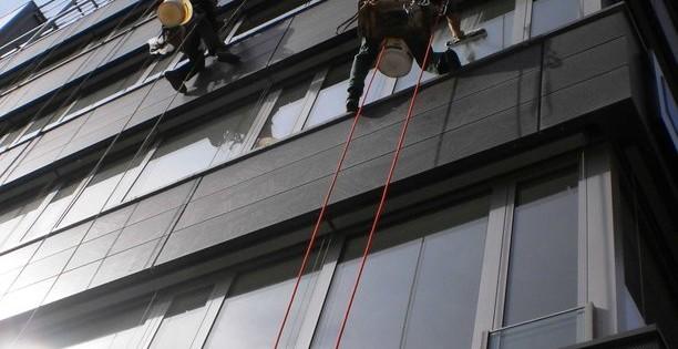 Okna ve výšce včetně nanoimpregnace v Praze